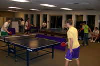 Students Compete at First Ping Pong Tournament